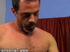 Hairy gay dad in shower movie Kyler cant fight back having another