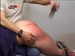 Czech boys spanking