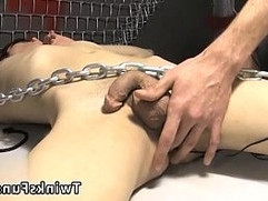 Shit gay porn images Roxy Red wakes up corded to a table and Ryan