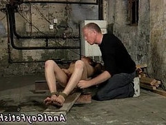 Foot fetish gay boy bondage British twink Chad Chambers is his latest
