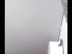 spying on toilet