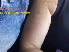 milf touch my dick on bus