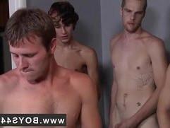 Gay black hard long penis anal sex extreme video Landon banged and jism