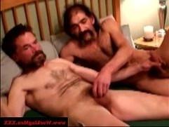 Mature gay guys up close barebacking