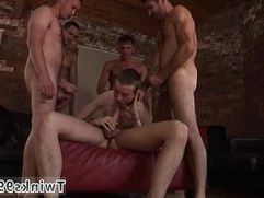 Gay twinks Poor James Takes An Onslaught Of Cock!